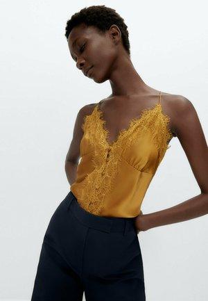Blouse - mustard yellow