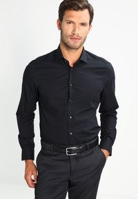 Tommy Hilfiger Tailored - SLIM FIT - Formal shirt - black - 0