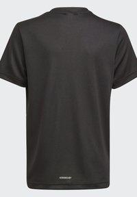 adidas Performance - AEROREADY T-SHIRT - Print T-shirt - black - 3