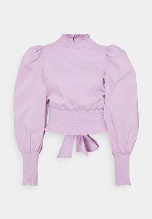 NATHA OPEN BACK  - Blouse - light purple
