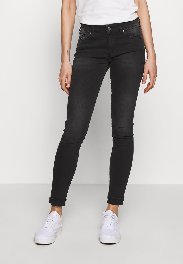 SLANDY - Jeans Skinny Fit - washed black