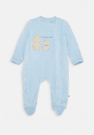 WAGENANZUG BASIC LINE NEWBORN - Pyjama - hellblau