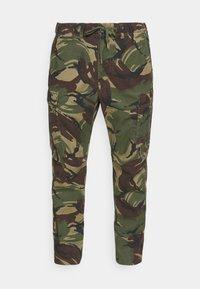Polo Ralph Lauren - STRETCH SLIM FIT TWILL CARGO PANT - Cargo trousers - british elmwood - 3