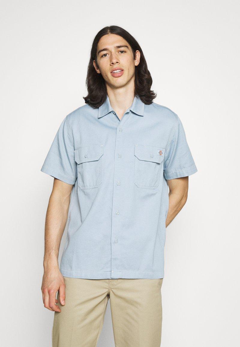 Dickies - WOLVERTON  - Skjorter - fog blue