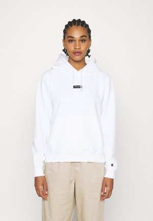 HOODED - Sudadera - white