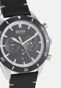 BOSS - SANTIAGO - Chronograph watch - black - 3