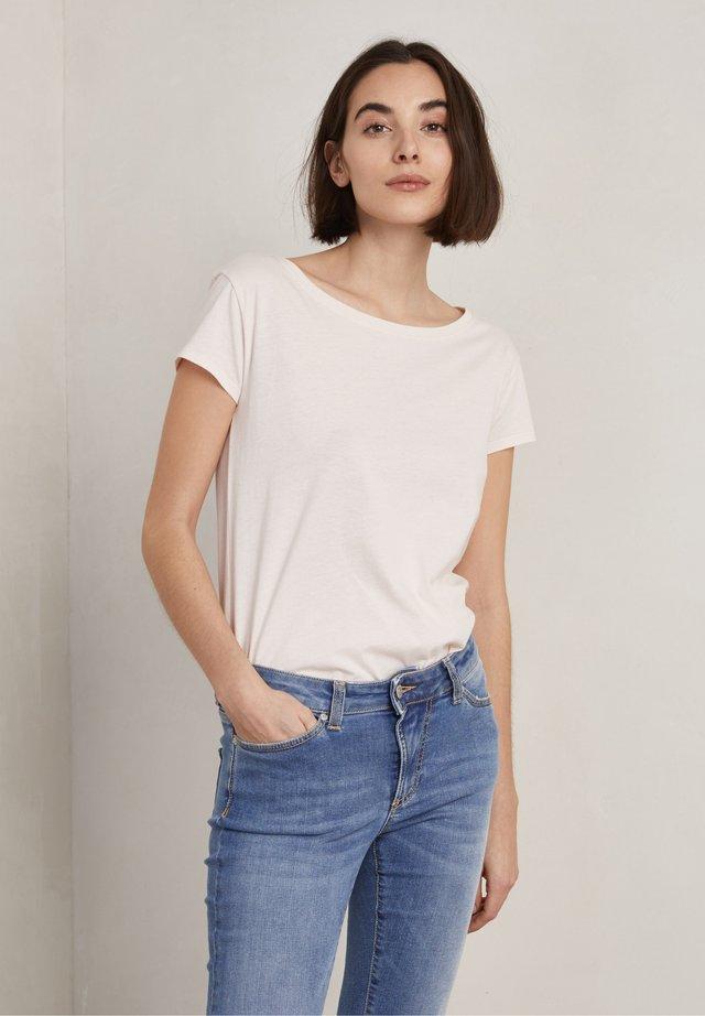 T-shirt basic - soft rose