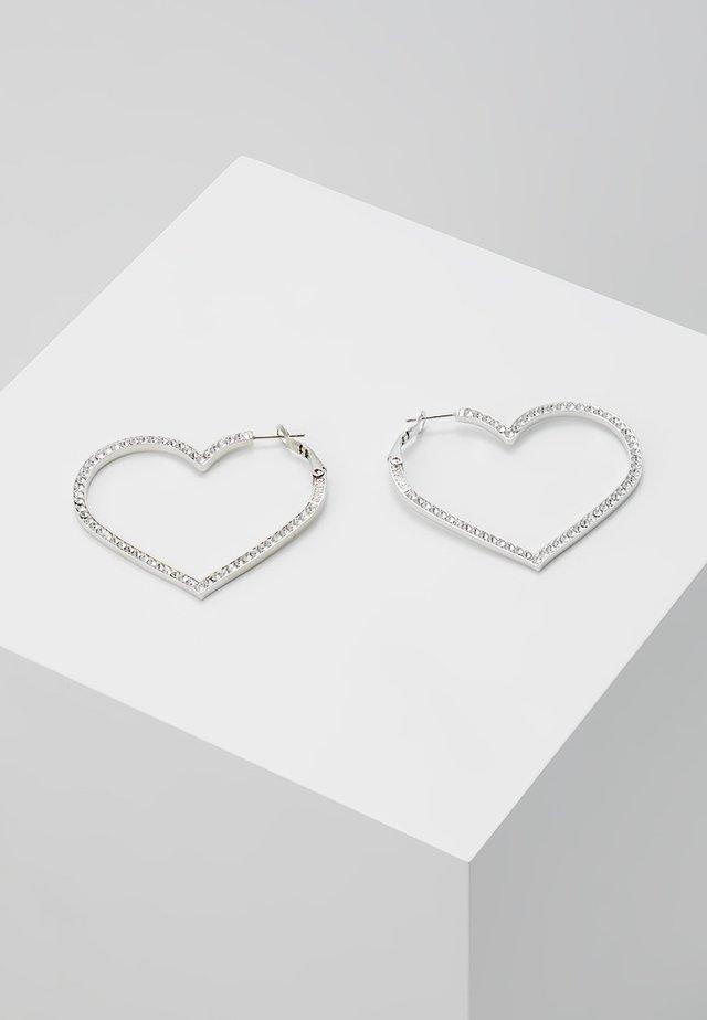 SHINE ON ME - Boucles d'oreilles - silver-coloured