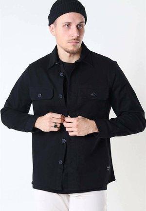 TOPPER - Summer jacket - black