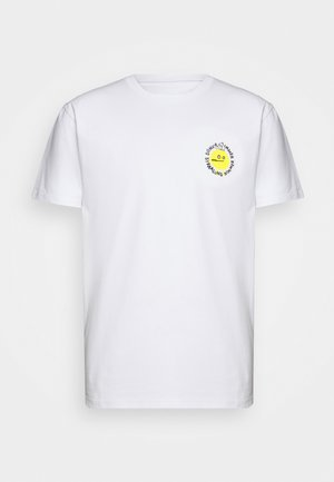 STRAHL - Print T-shirt - white
