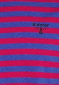 Barbour Beacon - STRIPED TEE - Top sdlouhým rukávem - cerise - 2