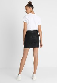 ONLY - Pouzdrová sukně - black - 2
