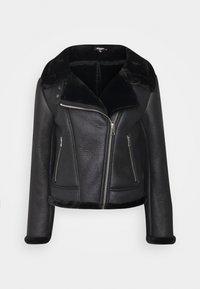 Missguided Petite - LINED AVIATOR - Winter jacket - black - 0