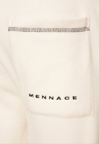 Mennace - UNISEX CONTRAST STITCH POLAR - Tracksuit bottoms - tan - 3