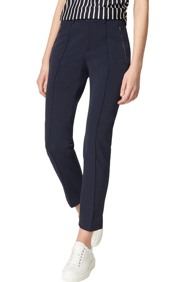 Pantalon classique - navy-blau