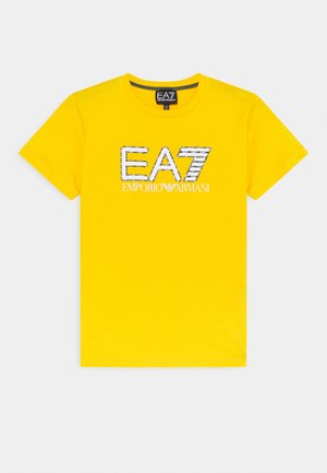 EA7 - T-shirt imprimé - yellow