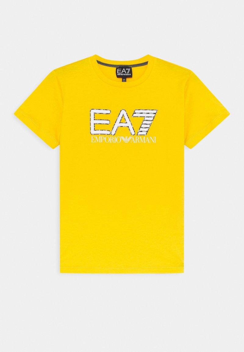 Emporio Armani - EA7 - Print T-shirt - yellow