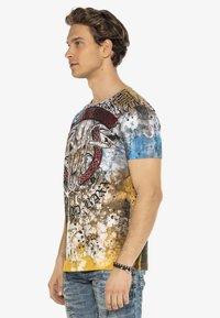 Cipo & Baxx - Print T-shirt - brown - 7