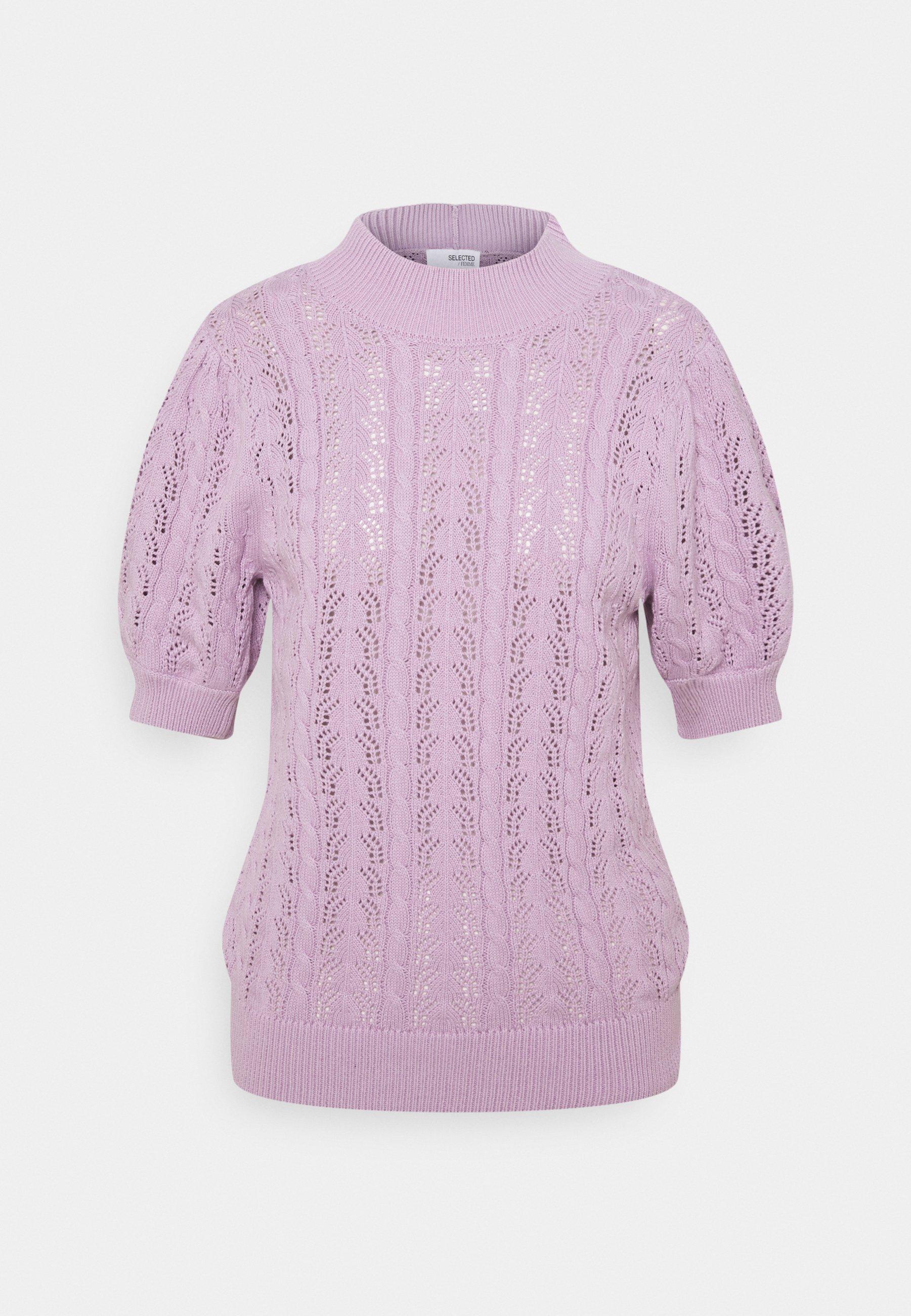 Women SLFJULIANA HIGH NECK - Print T-shirt