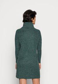 ONLY - JANA - Abito in maglia - mallard green - 2