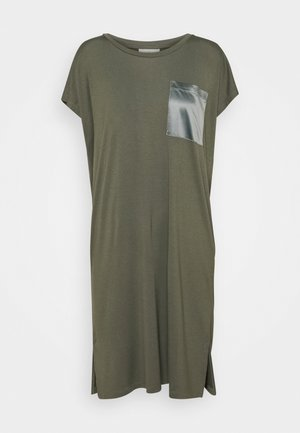 KARUTH DRESS - Jersey dress - grape leaf