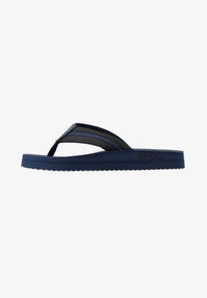 TEX COMFY - T-bar sandals - deep night/black