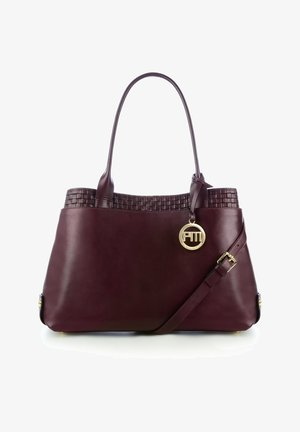 LIVERI  - Handbag - bordeux