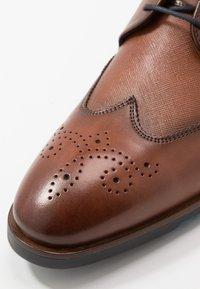 Lloyd - LETO - Smart lace-ups - cioccolato - 5