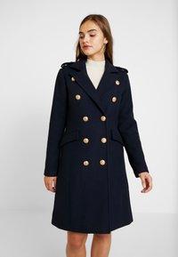 YAS - YASGOLDIAN COAT - Zimní kabát - navy blazer - 3