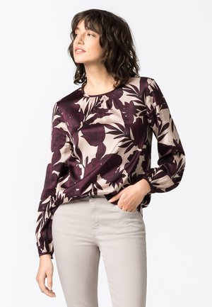 MIT MAXI-BLUMENPRINT - Blouse - multicolor
