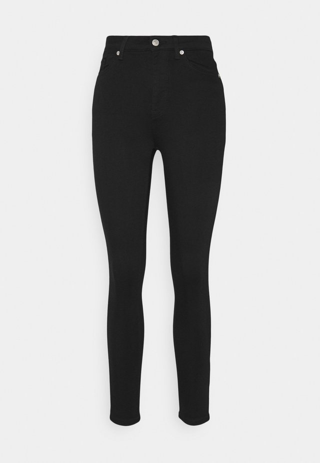 HIGH WAIST - Jeans Skinny Fit - black