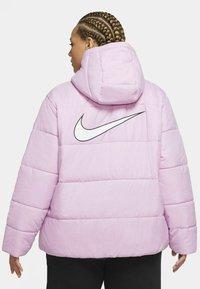 Nike Sportswear - Winter jacket - beyond pink/white/black - 2