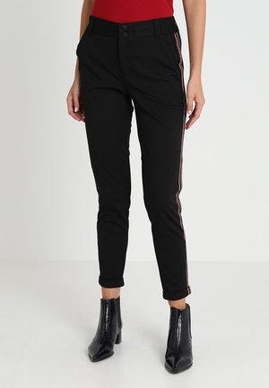 KINNIE PANTS - Trousers - black deep