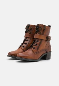 Bugatti - RUBY - Lace-up ankle boots - cognac - 2