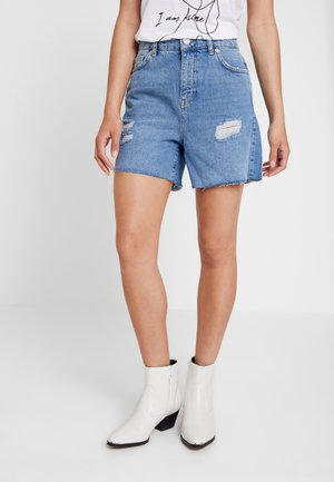 DIVA - Denim shorts - light blue