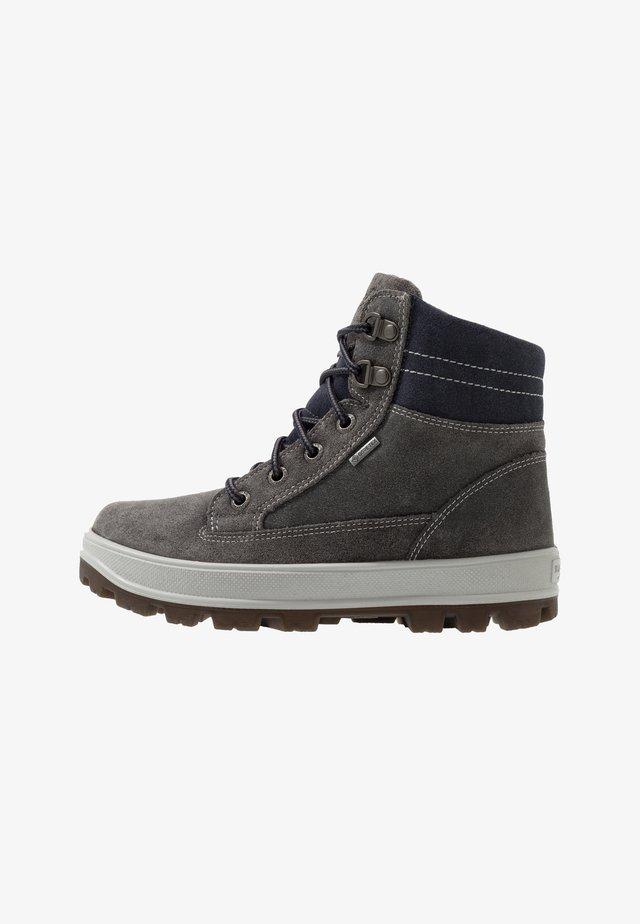 TEDD - Lace-up ankle boots - grau/blau