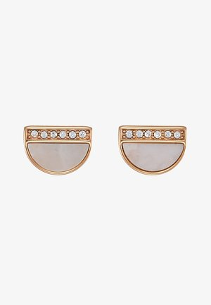 VINTAGE ICONIC - Earrings - rosegold-coloured