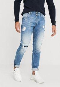 Gabba - REY - Slim fit jeans - blue denim - 0