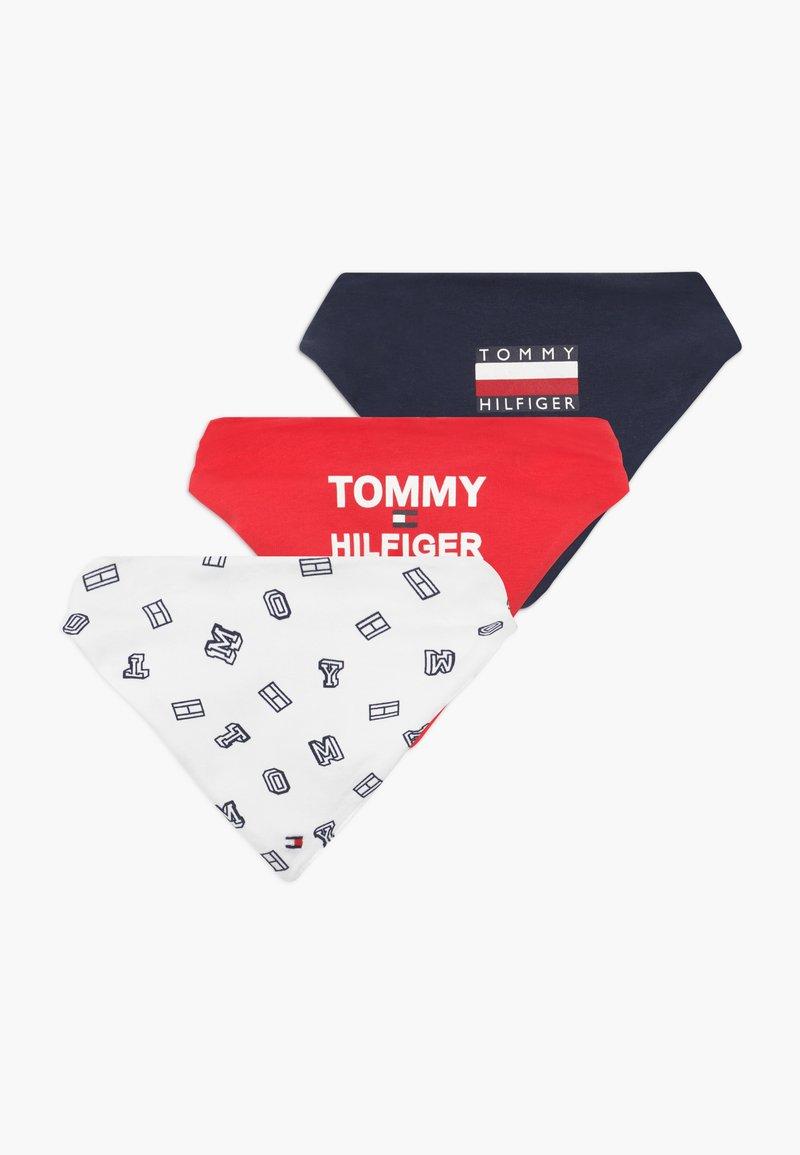 Tommy Hilfiger - BABY BIBDANA GIFTBOX 3 PACK  - Slabbetje - blue