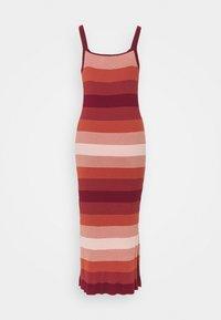 Banana Republic Tall - STRAPPY COLUMN OMBRE - Maxi dress - pink multi - 1