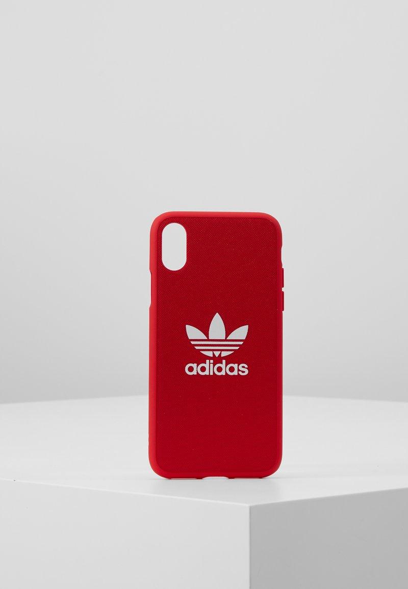 adidas Originals - MOULDED CASEFOR IPHONE X/ IPHONE XS  - Etui na telefon - scarlet