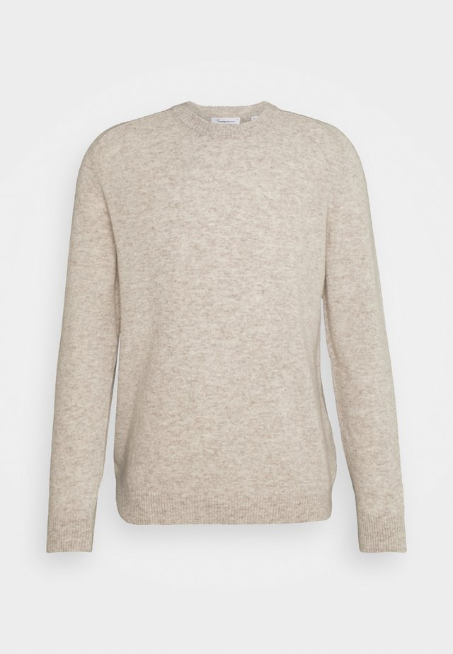 VALLEY O NECK - Jumper - light feather grey