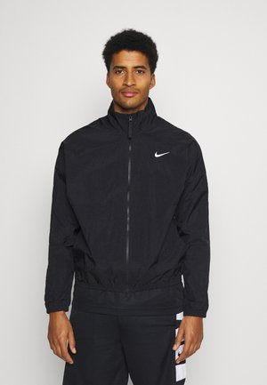 STARTING - Training jacket - black/white