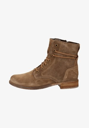 JOSEF SEIBEL STIEFELETTE - Lace-up ankle boots - taupe 250