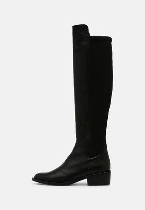 YANA - Kozačky nad kolena - black