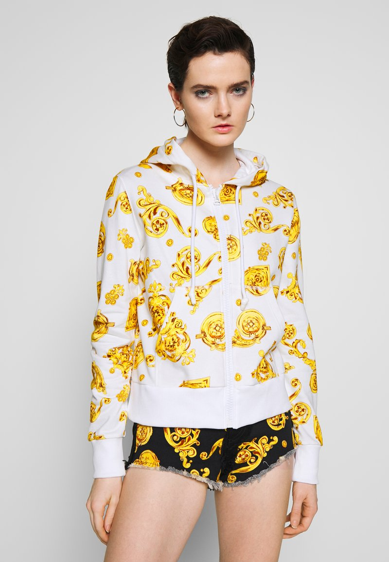 Versace Jeans Couture - Zip-up hoodie - white