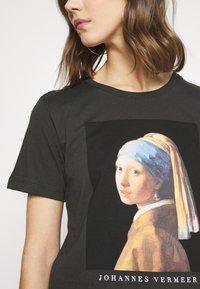 Even&Odd - T-shirt imprimé - anthracite - 5