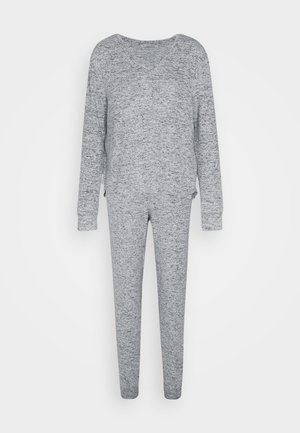 SET - Pyjama set - mottled grey