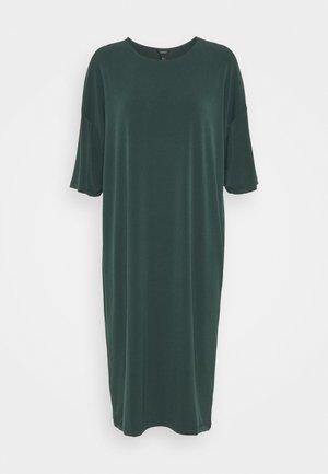 DRESS JENNA - Jersey dress - dark green