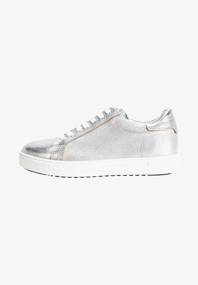 Sneakers laag - silver slv